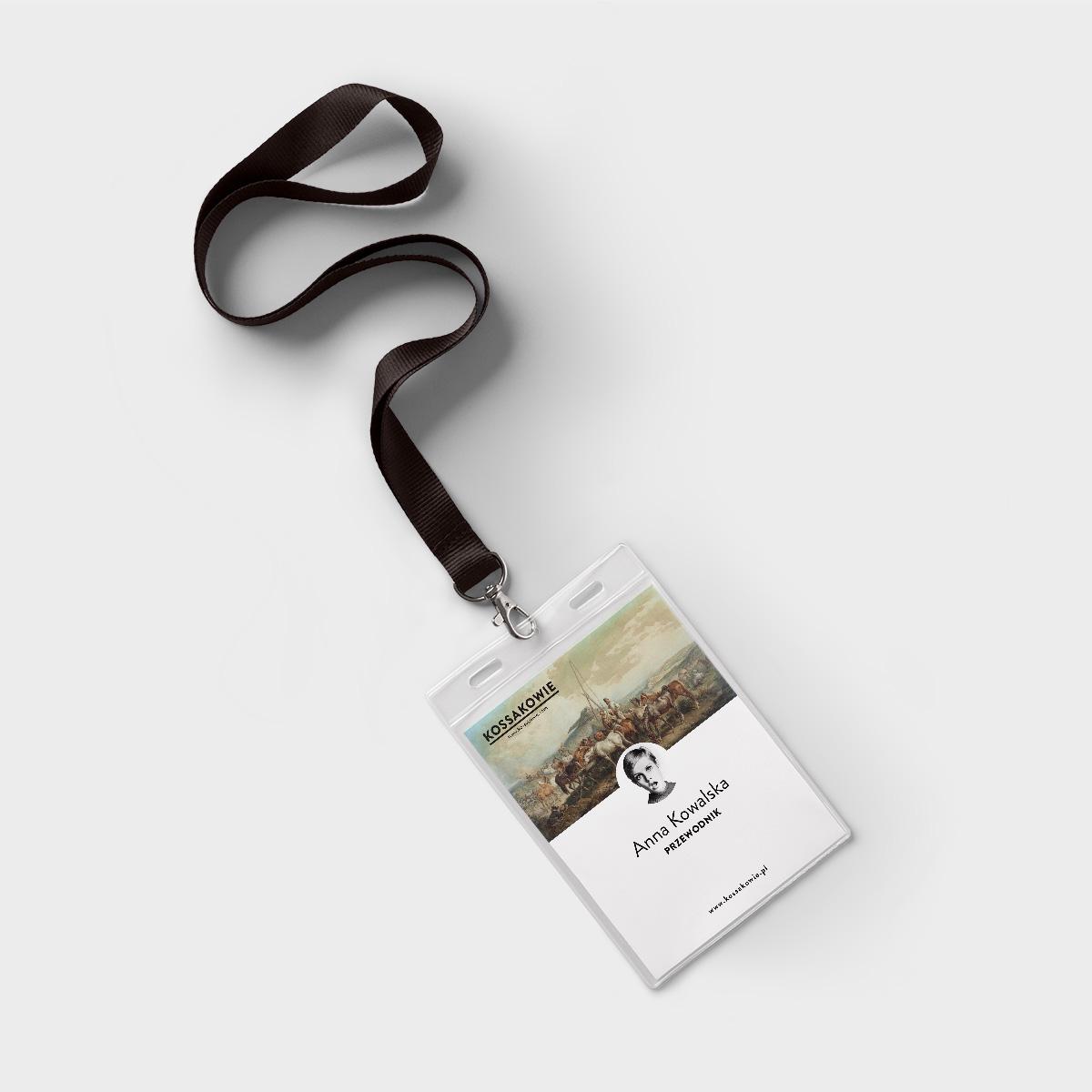 Kossakowie – koncept identyfikacji wystaw